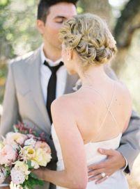50 Braids Short Hair Wedding Hairstyles Ideas 7
