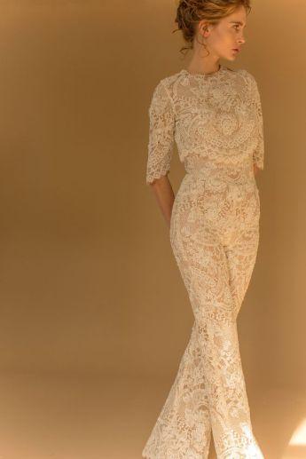 50 Bridal Jumpsuits Look Ideas 19