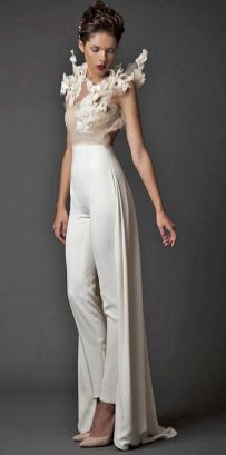 50 Bridal Jumpsuits Look Ideas 24