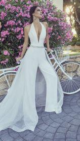 50 Bridal Jumpsuits Look Ideas 3