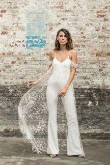 50 Bridal Jumpsuits Look Ideas 31