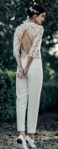 50 Bridal Jumpsuits Look Ideas 34