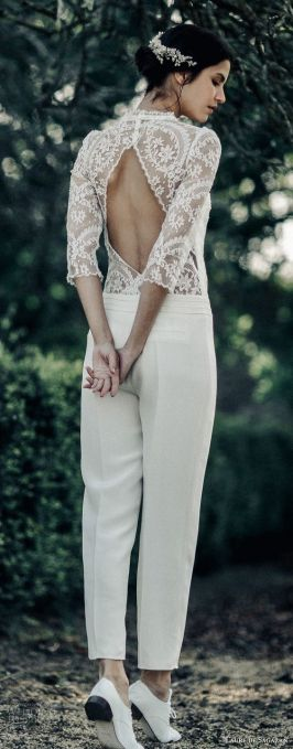 50 Bridal Jumpsuits Look Ideas 34