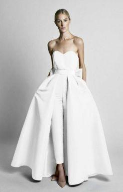 50 Bridal Jumpsuits Look Ideas 35