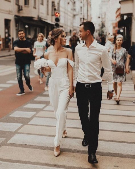 50 Bridal Jumpsuits Look Ideas 39