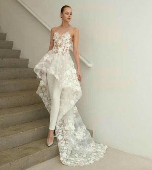 50 Bridal Jumpsuits Look Ideas 44
