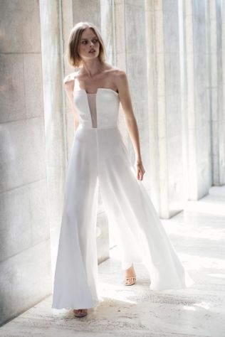 50 Bridal Jumpsuits Look Ideas 47
