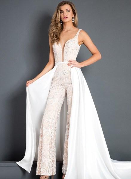 50 Bridal Jumpsuits Look Ideas 48 Style Female