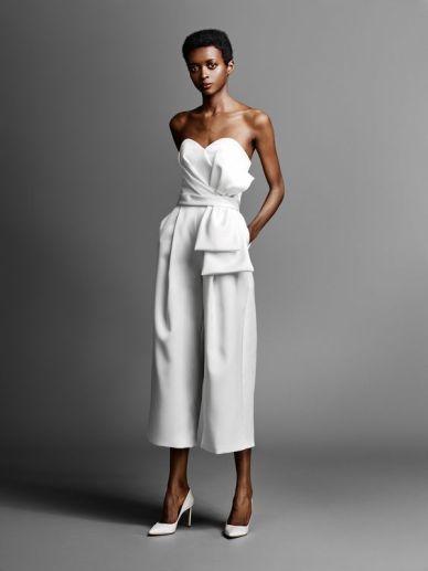 50 Bridal Jumpsuits Look Ideas 7
