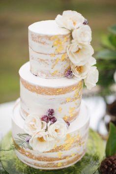 50 Gold Wedding Cakes Ideas 54