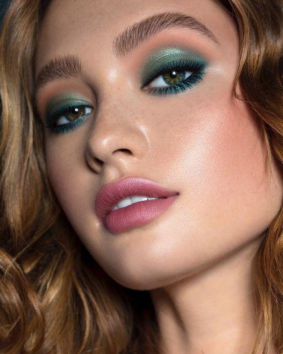 50 Green Eyes Makeup Ideas 2
