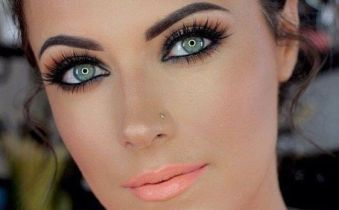 50 Green Eyes Makeup Ideas 3