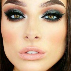 50 Green Eyes Makeup Ideas 4