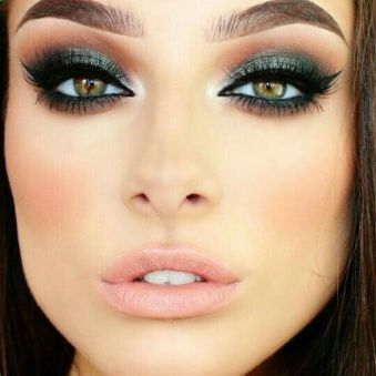 50 Green Eyes Makeup Ideas 4