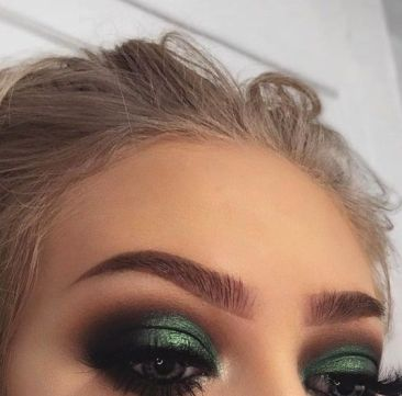 50 Green Eyes Makeup Ideas 6