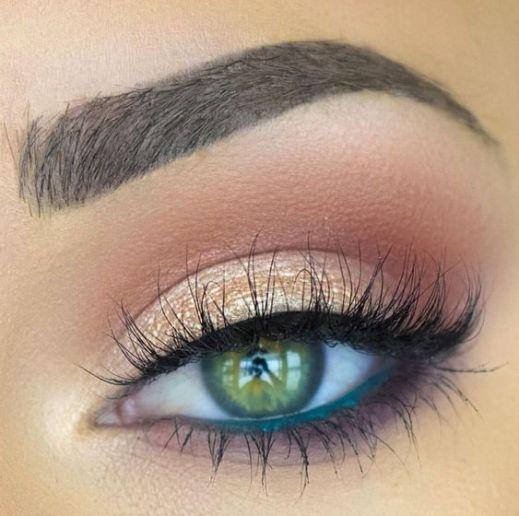 50 Green Eyes Makeup Ideas 7