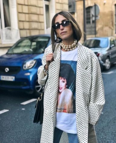 50 How to Wear an Oversized T Shirt Ideas 35