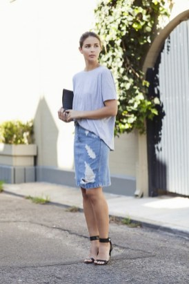 50 How to Wear an Oversized T Shirt Ideas 48