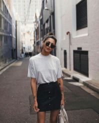50 How to Wear an Oversized T Shirt Ideas 50
