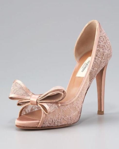 50 Lace Heels Bridal Shoes Ideas 12