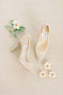 50 Lace Heels Bridal Shoes Ideas 3