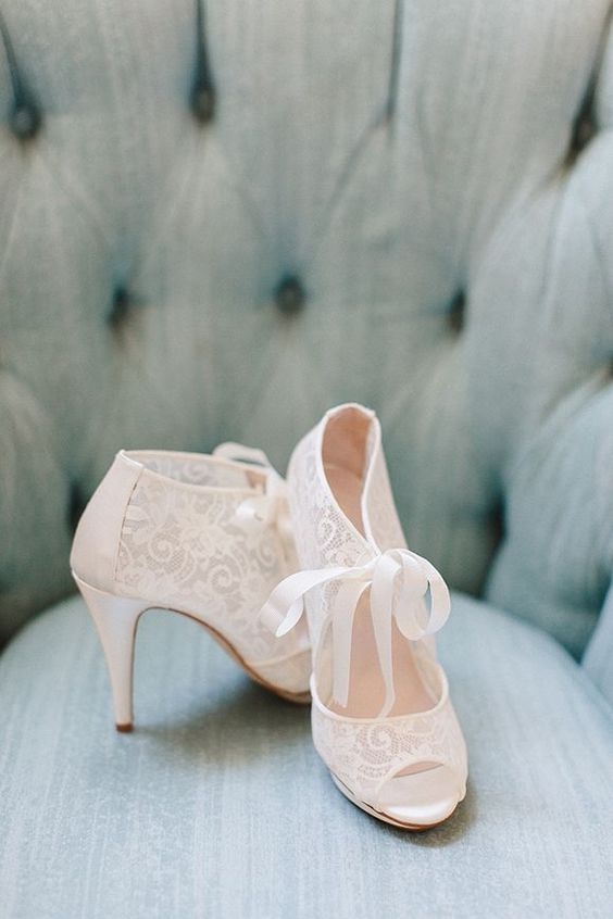 50 Lace Heels Bridal Shoes Ideas 31