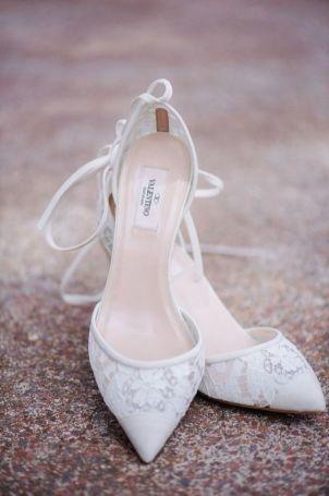 50 Lace Heels Bridal Shoes Ideas 32