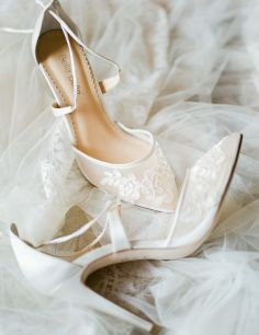 50 Lace Heels Bridal Shoes Ideas 37