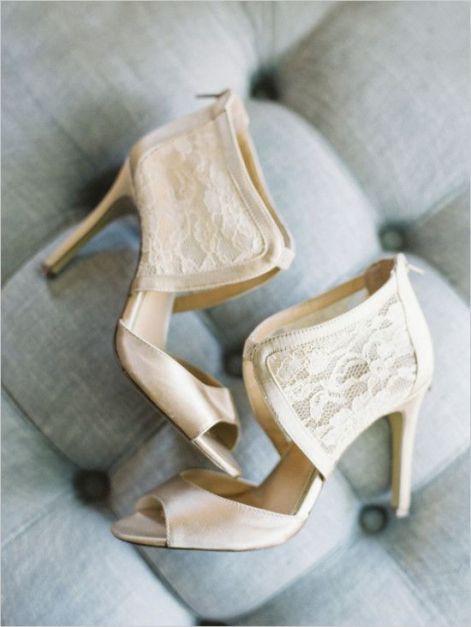 50 Lace Heels Bridal Shoes Ideas 41