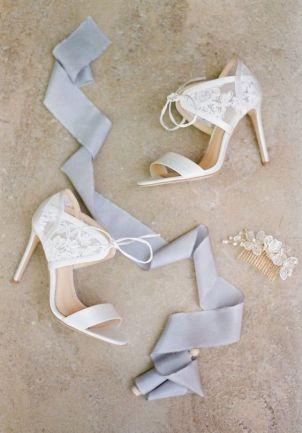 50 Lace Heels Bridal Shoes Ideas 46