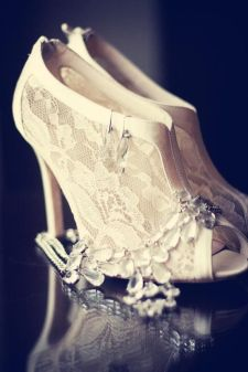 50 Lace Heels Bridal Shoes Ideas 47