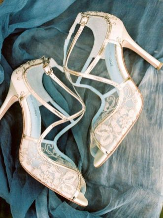 50 Lace Heels Bridal Shoes Ideas 50