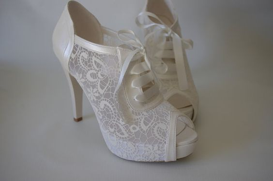 50 Lace Heels Bridal Shoes Ideas 54