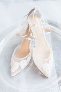 50 Lace Heels Bridal Shoes Ideas 9