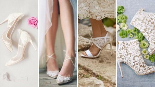 50 Lace Heels Bridal Shoes Ideas