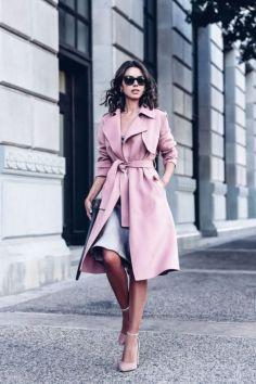 50 Möglichkeiten rosafarbene Outfits Ideen zu tragen 30