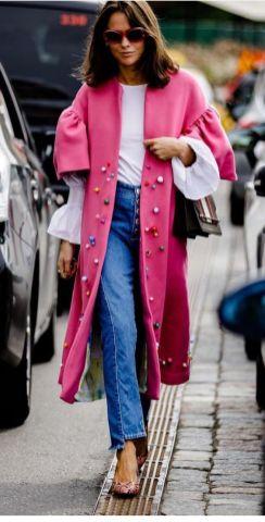 50 Möglichkeiten rosafarbene Outfits Ideen zu tragen 33