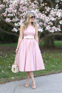 50 Möglichkeiten rosafarbene Outfits Ideen zu tragen 43