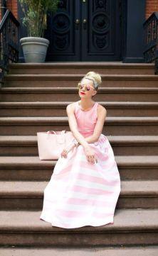 50 Möglichkeiten rosafarbene Outfits Ideen zu tragen 56