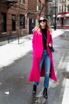 50 Möglichkeiten rosafarbene Outfits Ideen zu tragen 59
