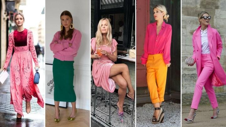 50 Möglichkeiten rosafarbene Outfits Ideen zu tragen