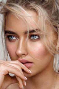 50 Perfekte natürliche Make up für Frauen Idee 17