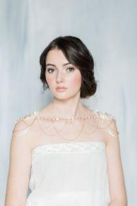 50 Shoulder Necklaces for Brides Ideas 27