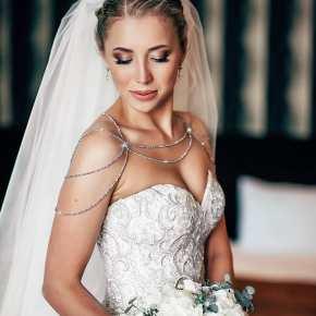 50 Shoulder Necklaces for Brides Ideas 38