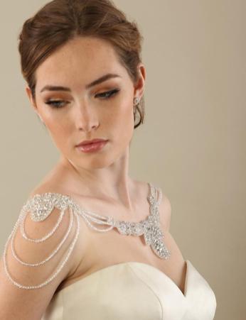 50 Shoulder Necklaces for Brides Ideas 50