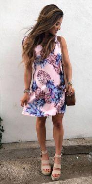 50 Summer Short Dresses Ideas 15