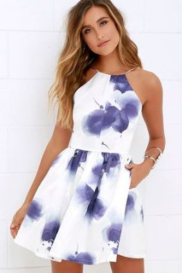 50 Summer Short Dresses Ideas 53