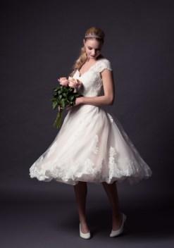 50 Tea Length Dresses For Brides Ideas 14 3