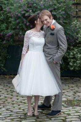 50 Tea Length Dresses For Brides Ideas 21 3
