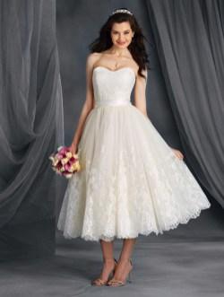 50 Tea Length Dresses For Brides Ideas 30 3